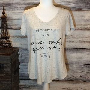 Apt. 9 Be Yourself and Love Who You Are Always Tee